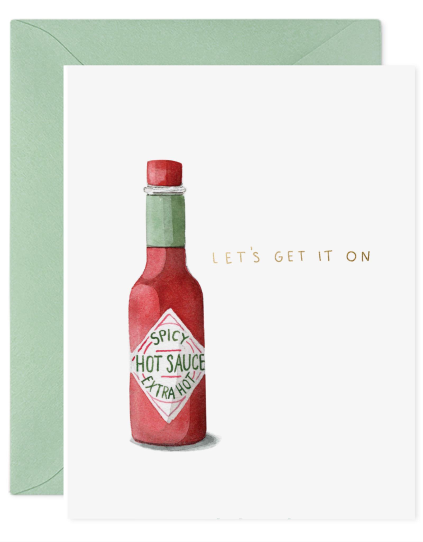 """""""Hot Sauce"""" Greeting Card"""