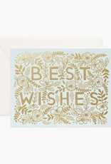 """Best Wishes"" Greeting Card"