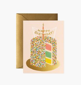"""Layer Cake"" Birthday Card"