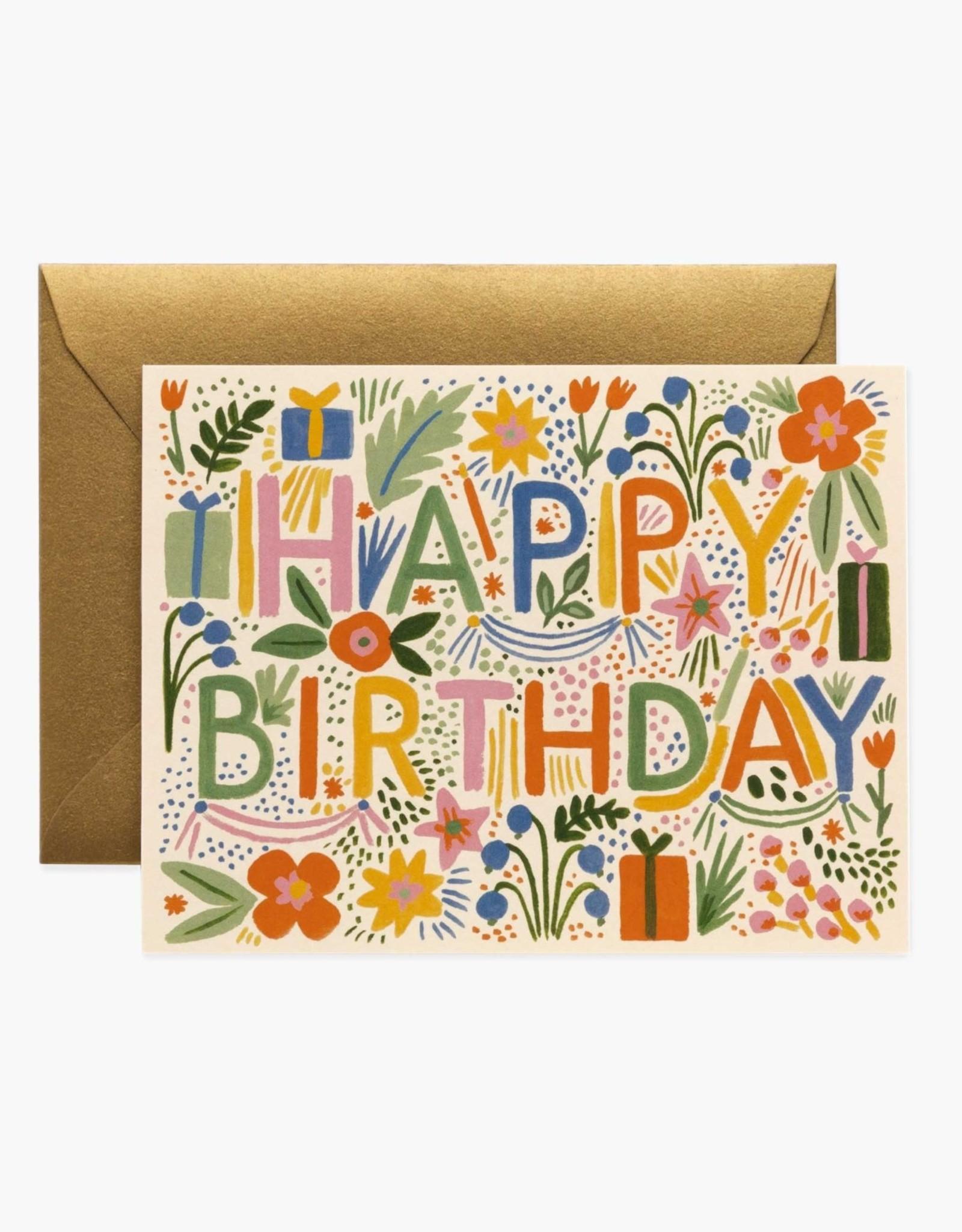 """""""Fiesta"""" Birthday Card"""