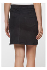 Mini Skirt with Fray Hem