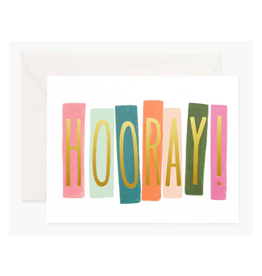 """Hooray"" Greeting Card"