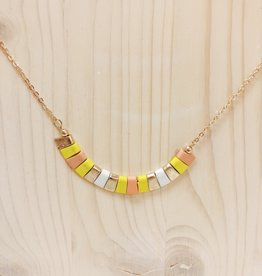 Colored Chip Necklace
