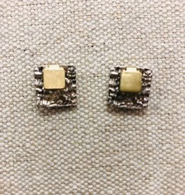 Square Two Metal Studs