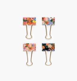 Floral Binder Clips