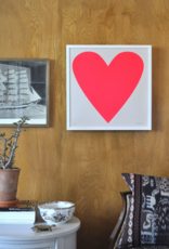 Neon Heart Art Print - For Lovers Everywhere