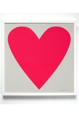 Neon Heart Art Print - For Lovers Everywhere