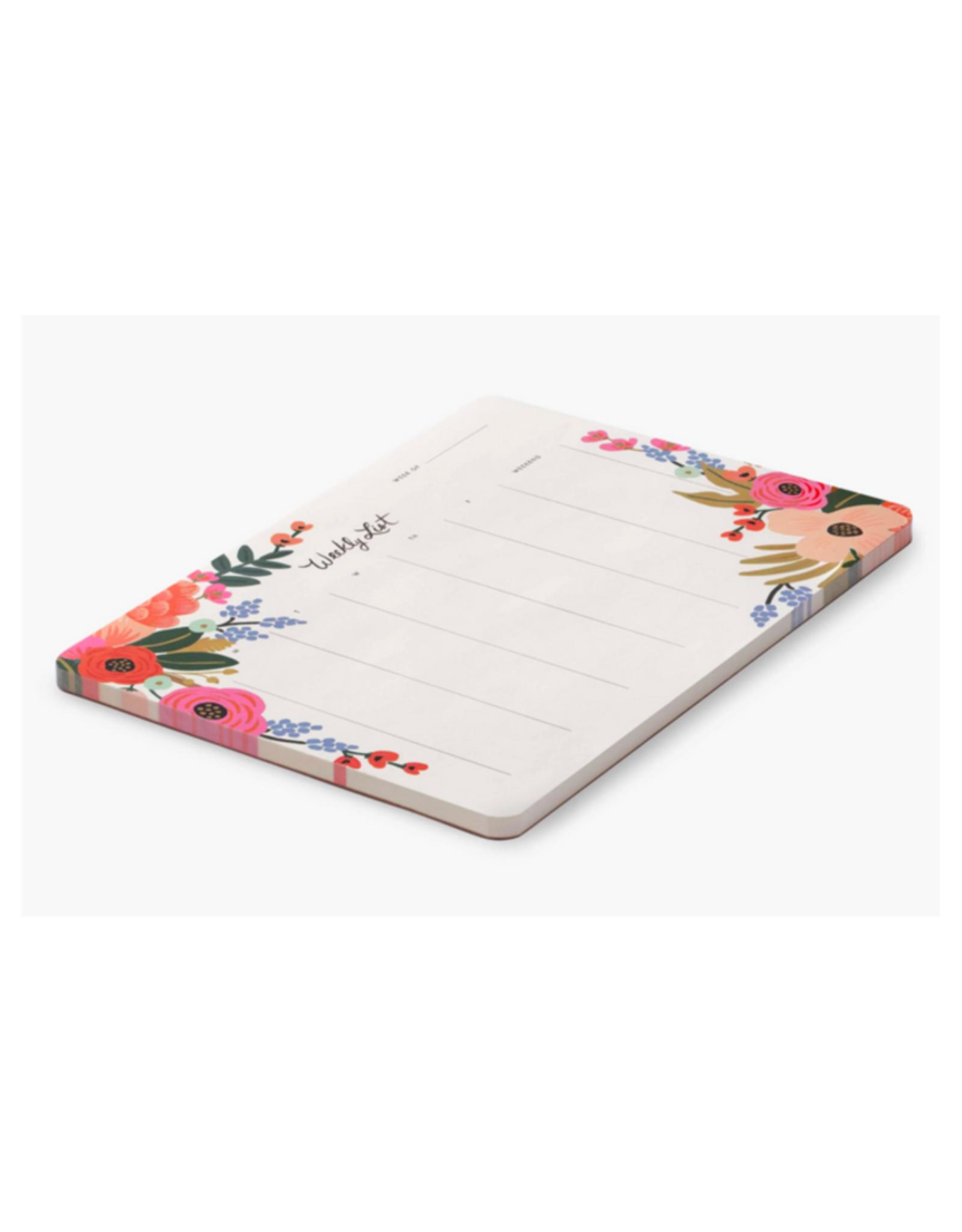 Weekly Planner Desk Pads - 3 Patterns