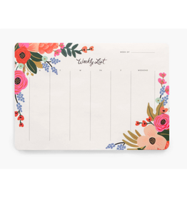 Weekly Planner Desk Pads - 3 Patterns