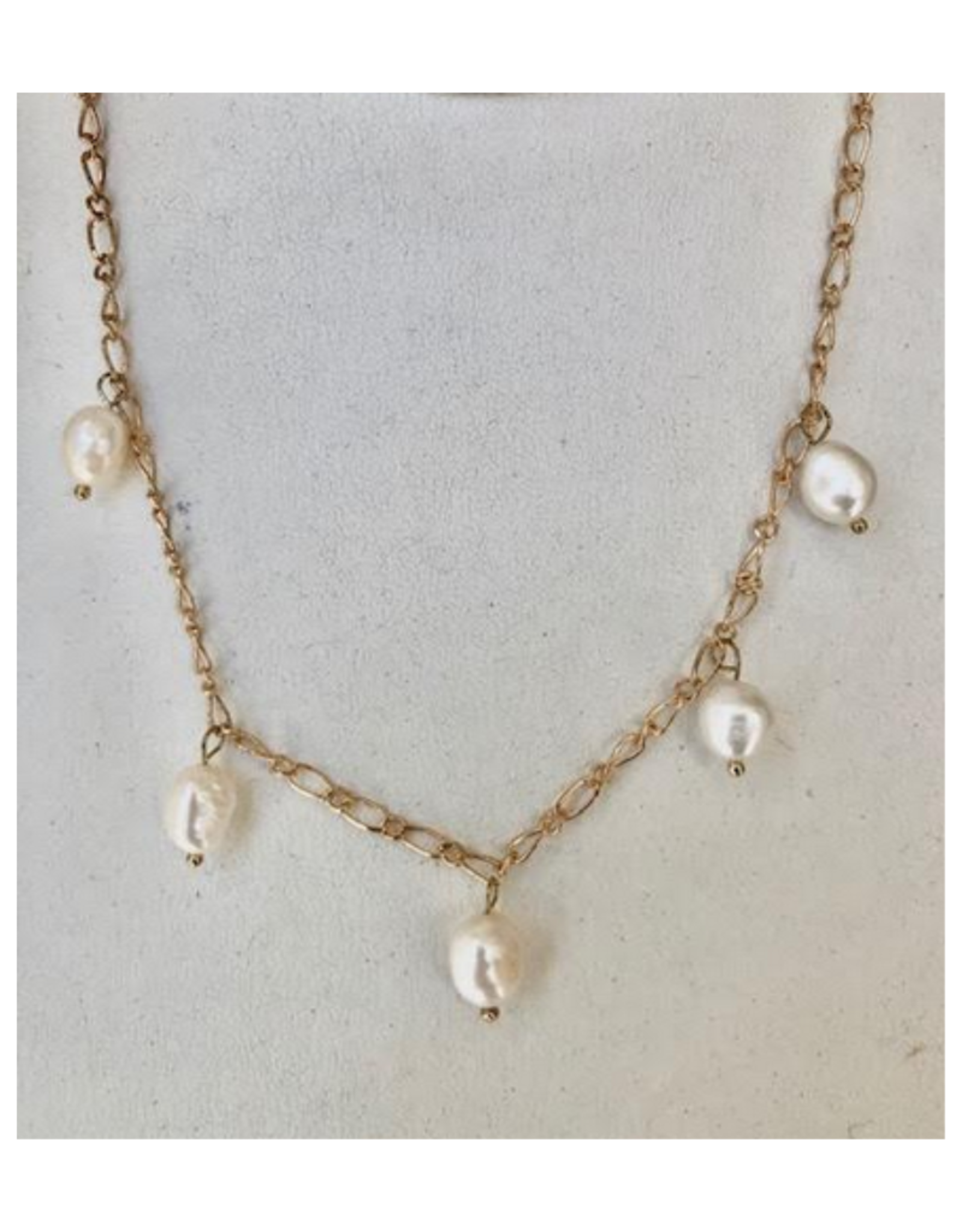 Five Pearl Necklace