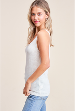 Sleeveless V-Neck Sweater - 3 Colors