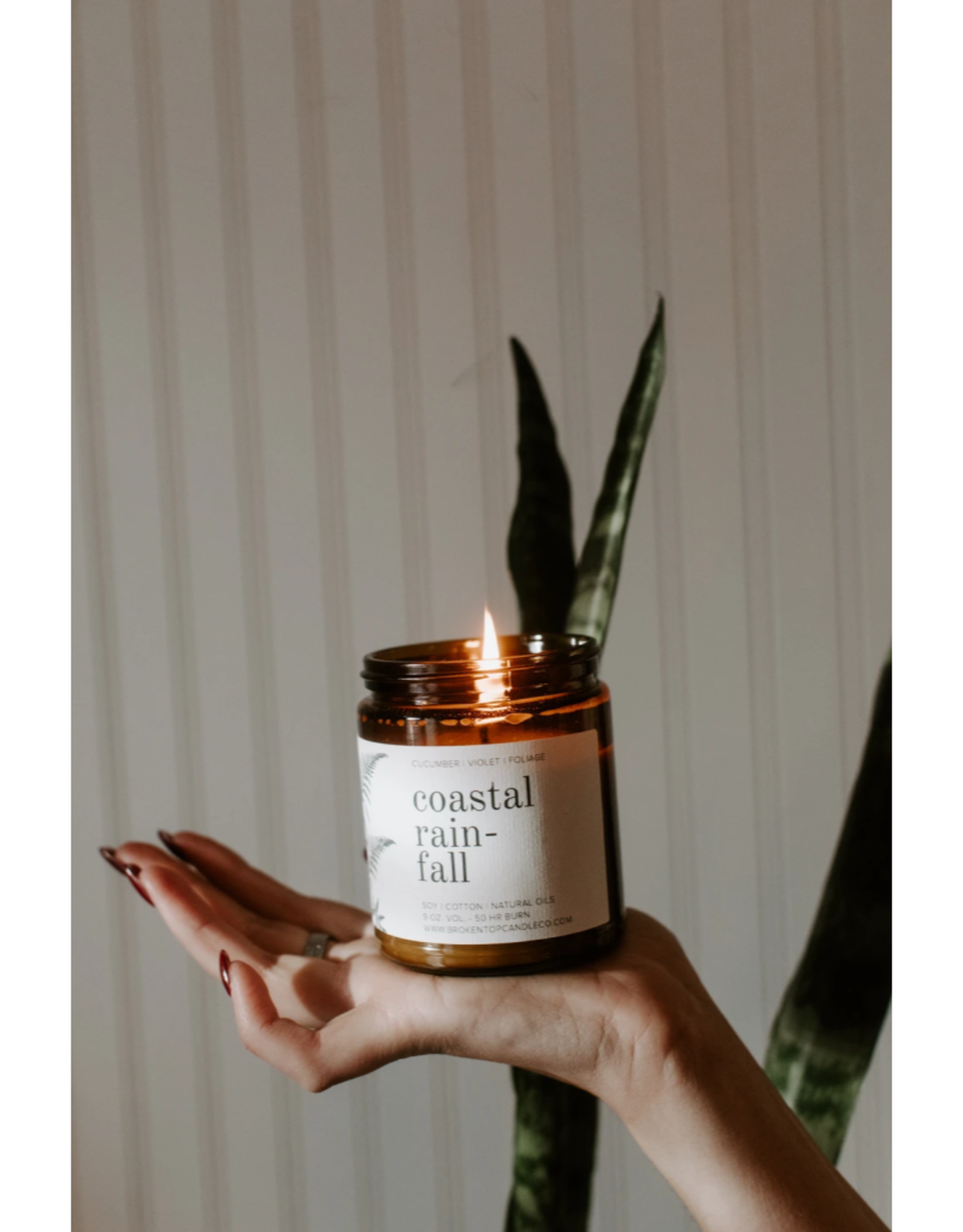 Coastal Rainfall Candle