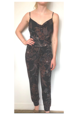 Cami Jumpsuit With Elastic Ankle Cuffs