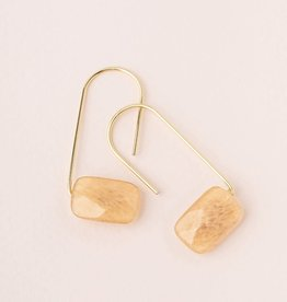 Scout Floating Stone Earrings Citrine