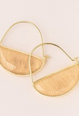 Scout Prism Hoops - Citrine/Gold