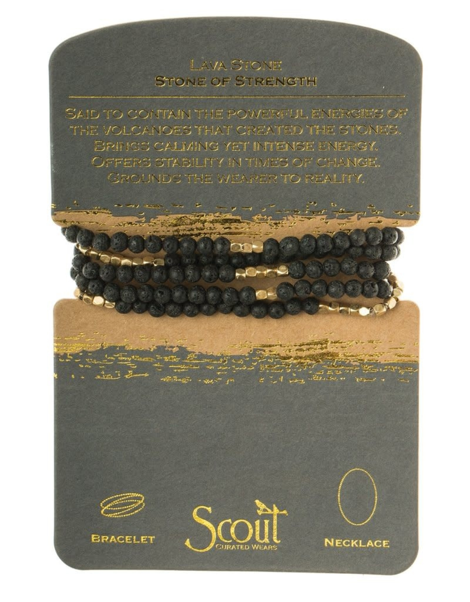 Scout Wrap - Lava Stone