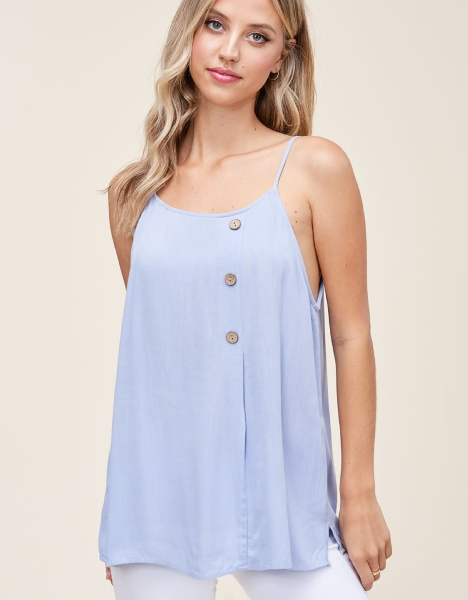 Cami with Button Detail
