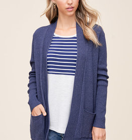 Long Cozy Cardi with Pockets