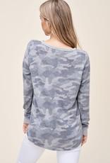 Cozy Camouflage Top