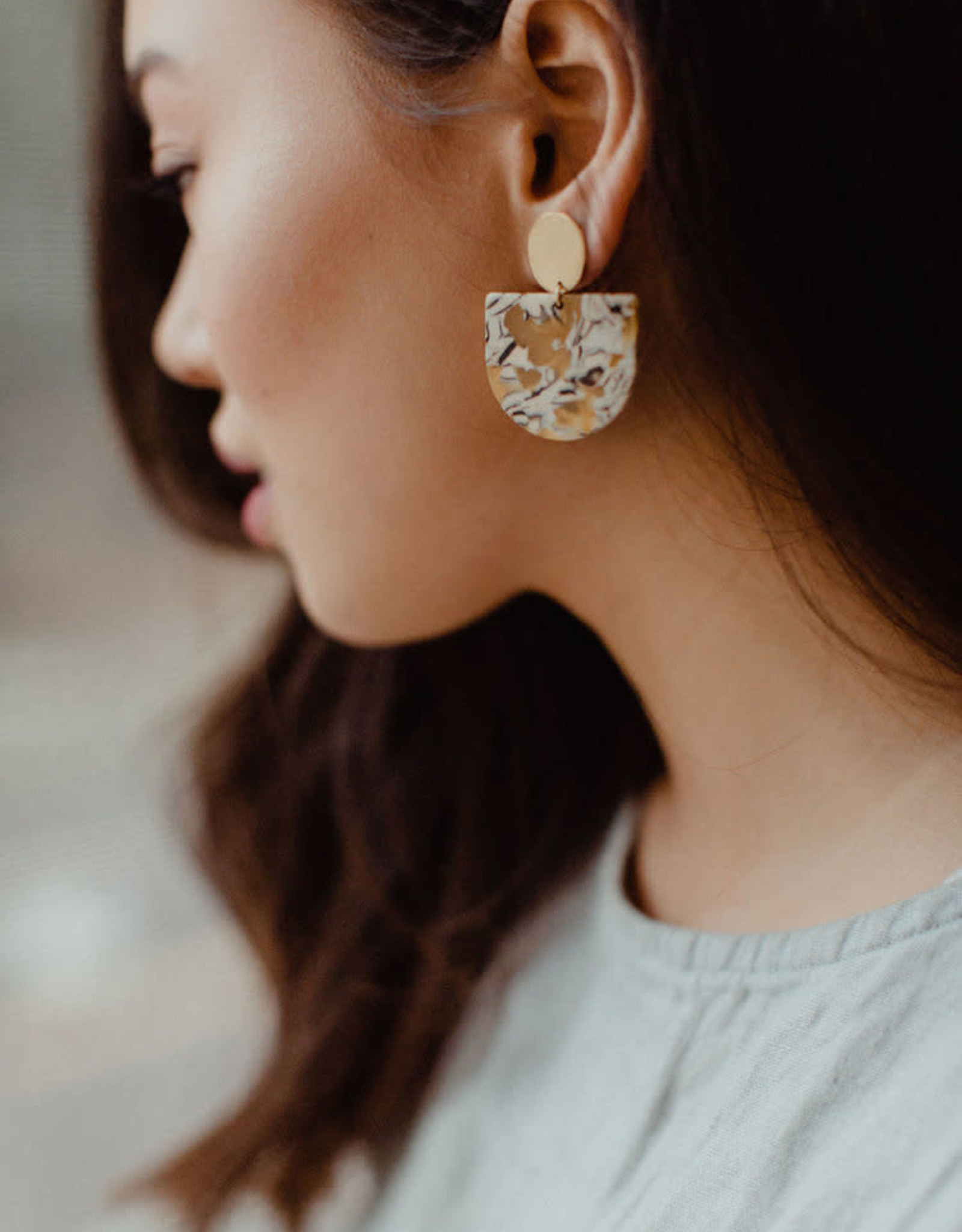 The Delta Earring  in 7 Colors