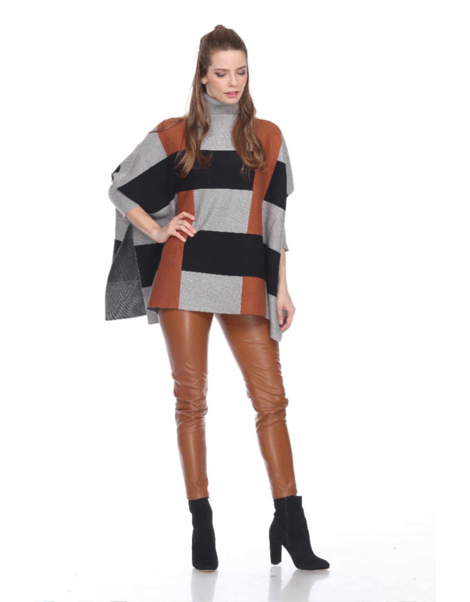 Boxy Colorblock Sweater