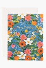 """Orangerie"" Birthday Card"