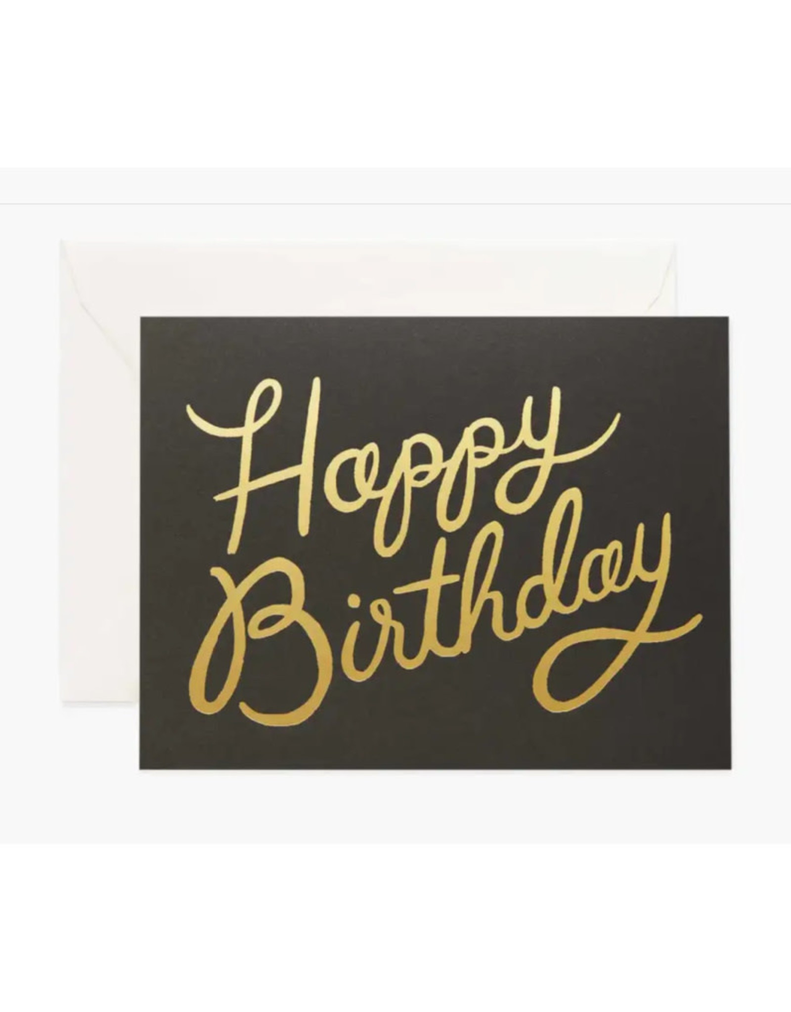"""Shimmering"" Birthday Card"