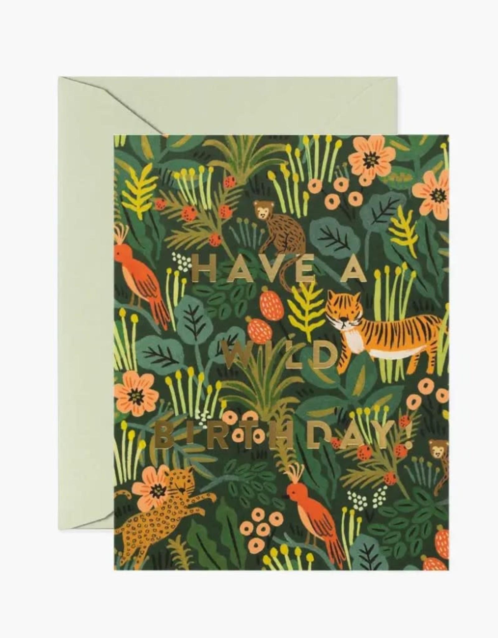 """""""Wild Birthday"""" Card"""