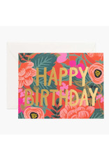 """Poppy"" Birthday Card"
