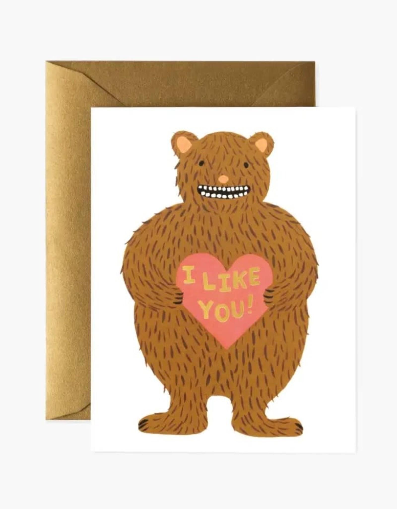 """""""I Like You"""" Card"""
