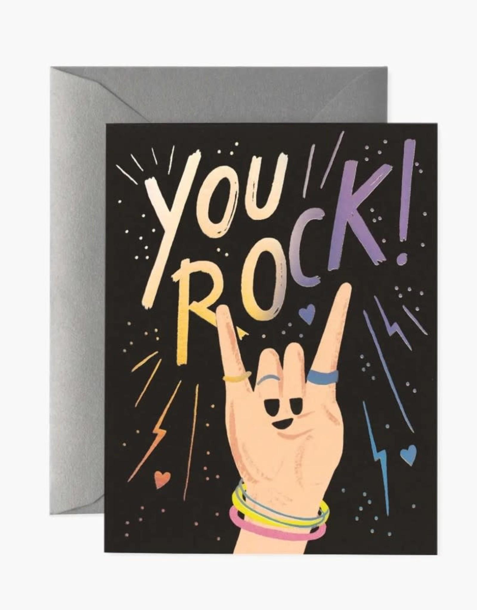"""You Rock"" Card"