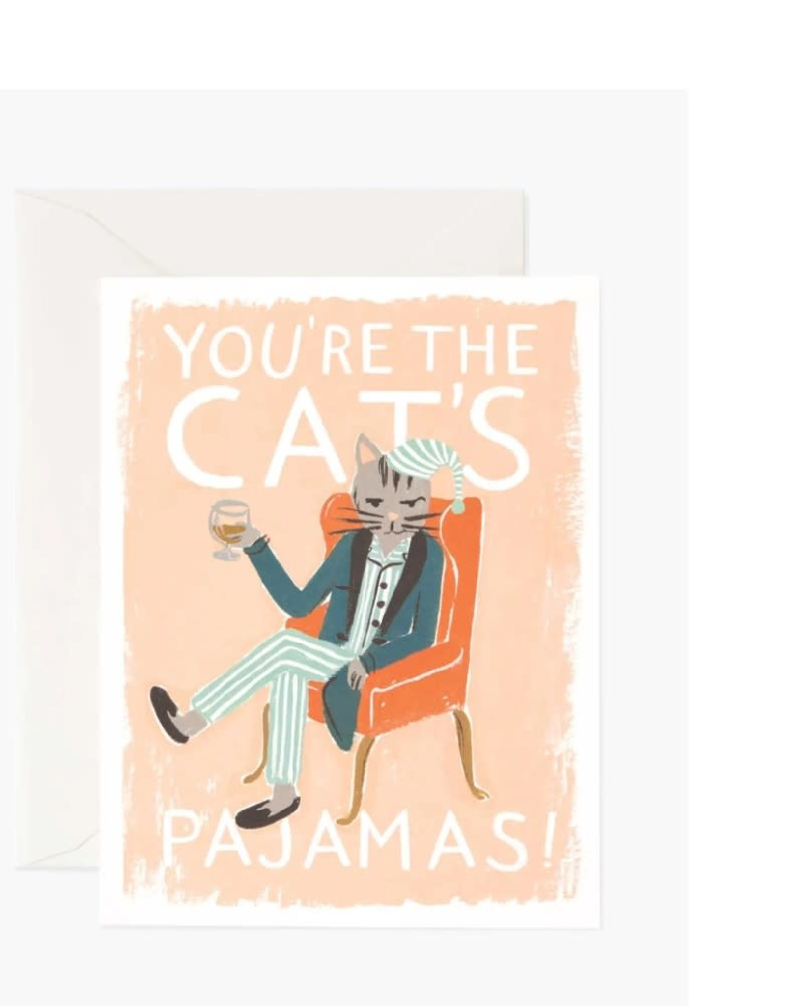 """""""You're The Cat's Pajamas"""" Card"""