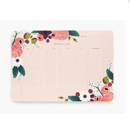 Weekly Planner Desk Pad in 3 Prints