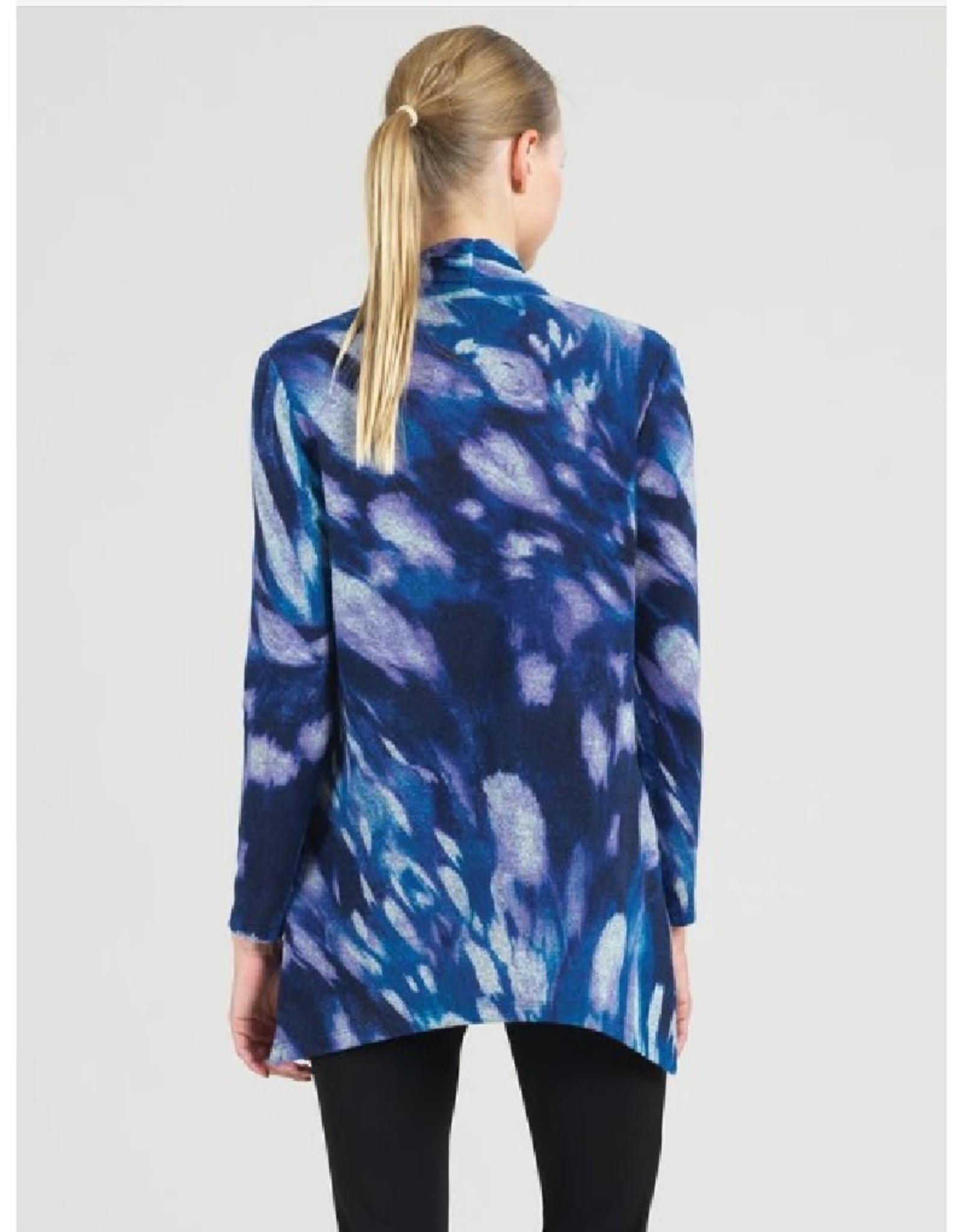 V-Neck Print Tunic