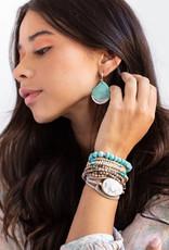 Scout Teardrop Earring Turquoise/Silver