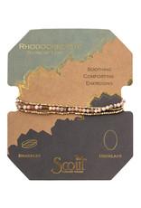 Scout Delicate Wrap Rhodochrosite