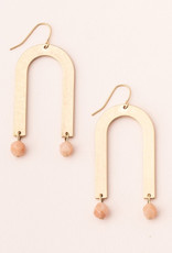 Scout Arches Earring African Sunstone/Gold