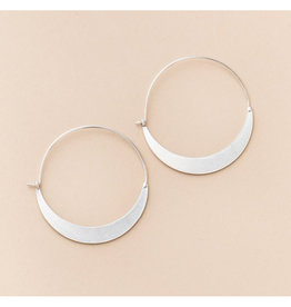 Scout Crescent Hoop Earring Sterling