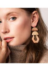 Scout Cutout Earring Dalmatian/Gold