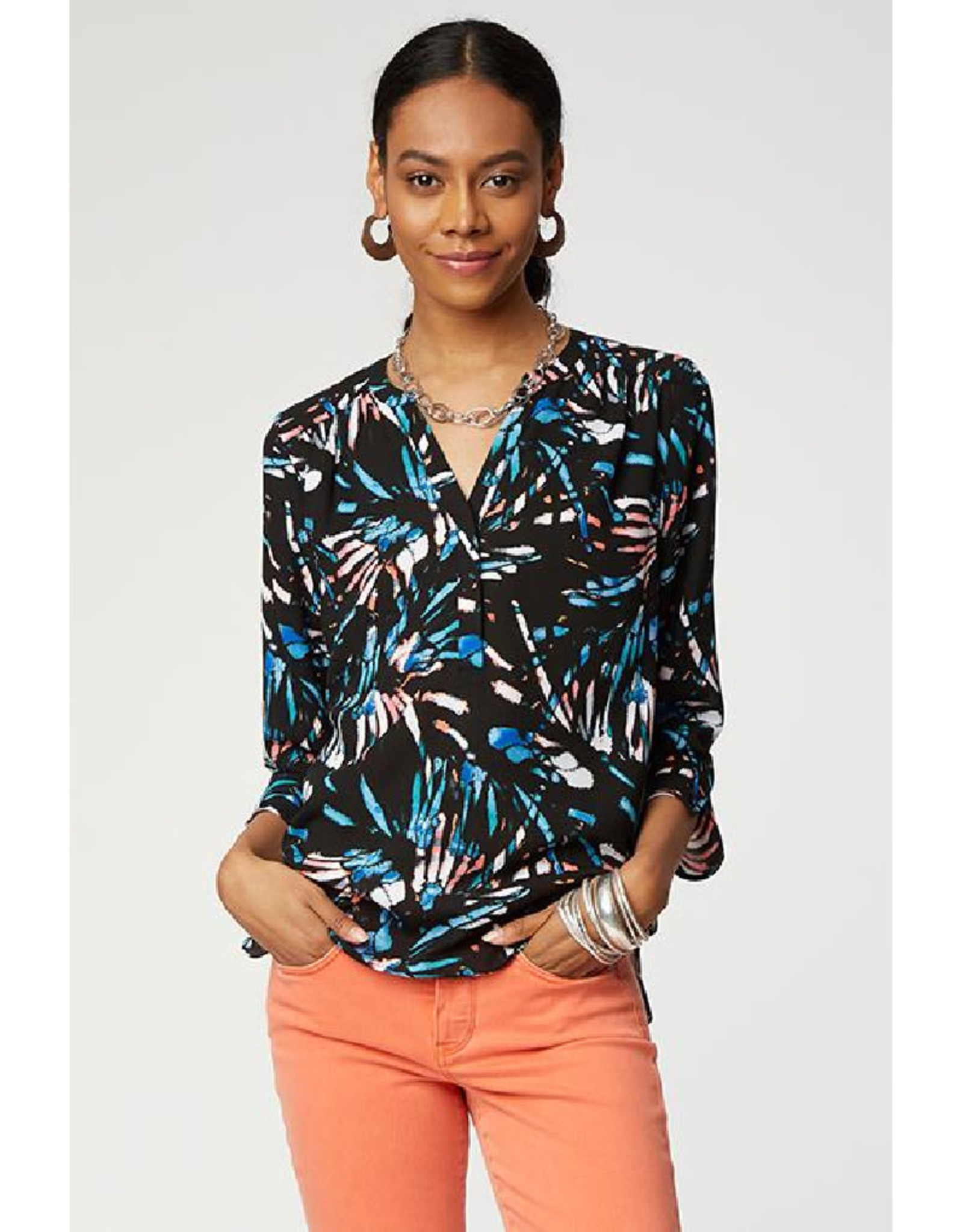 The Perfect Blouse in 4 Prints