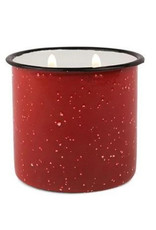 Alpine Enamelware Candle - 9.5 oz. - Red, Pomegranate & Spruce