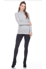 Fold Over Turtleneck Sweater in 5 Colors