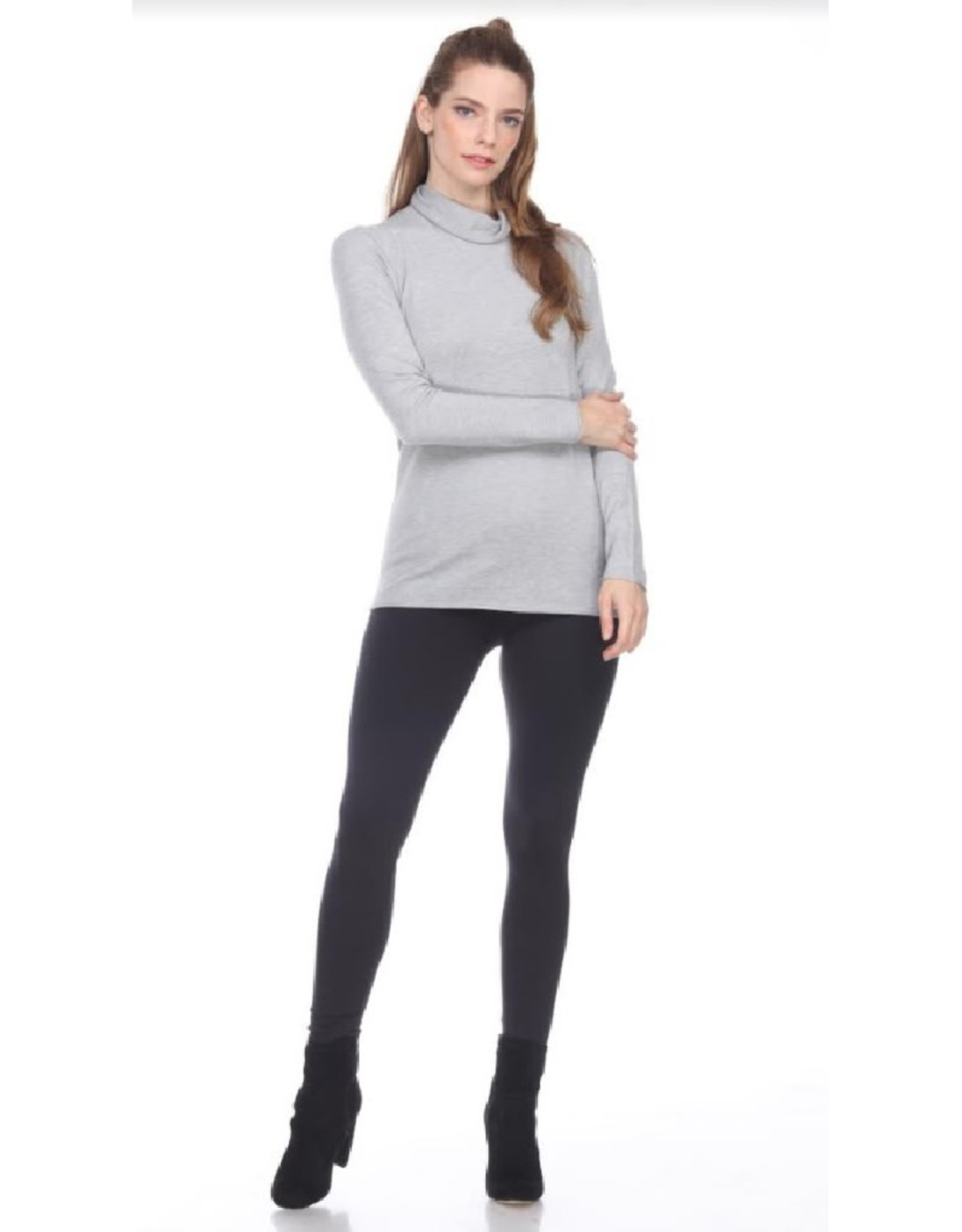 Fold Over Turtleneck Sweater
