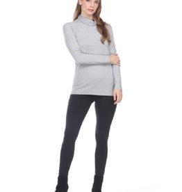 Fold Over Turtleneck Sweater