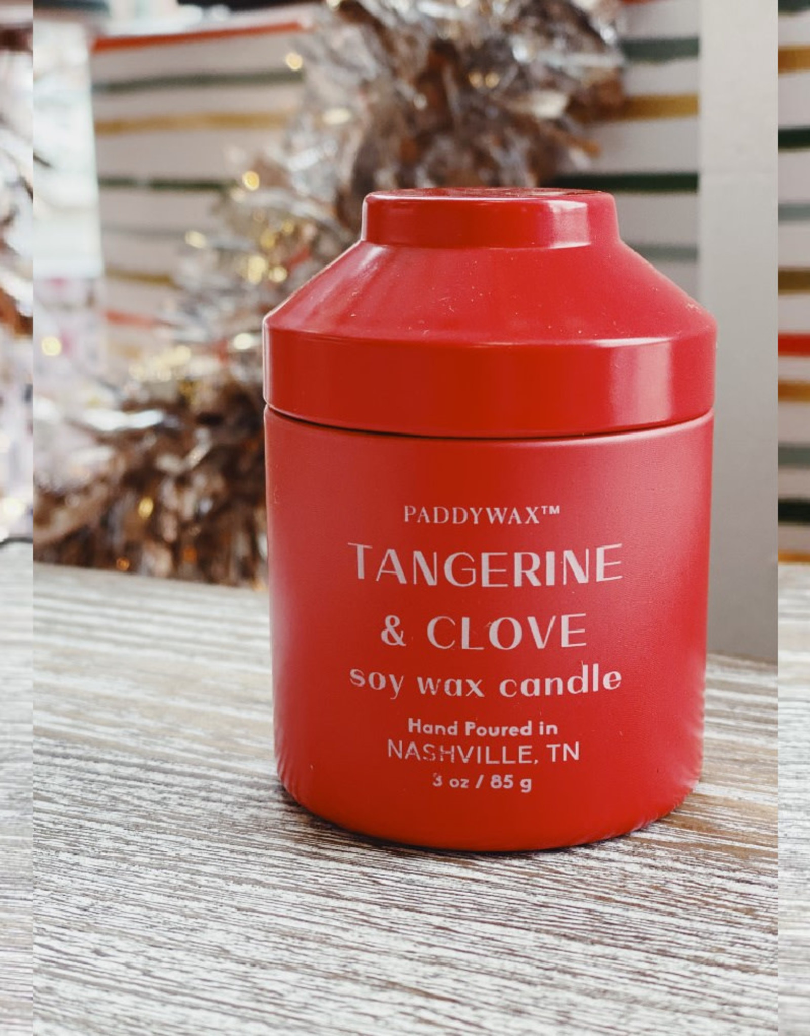 3oz. Candle Tin - Tangerine & Clove