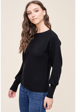Horizontal Ribbed Pullover