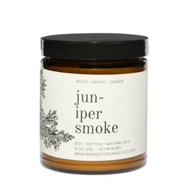 Juniper Smoke Candle