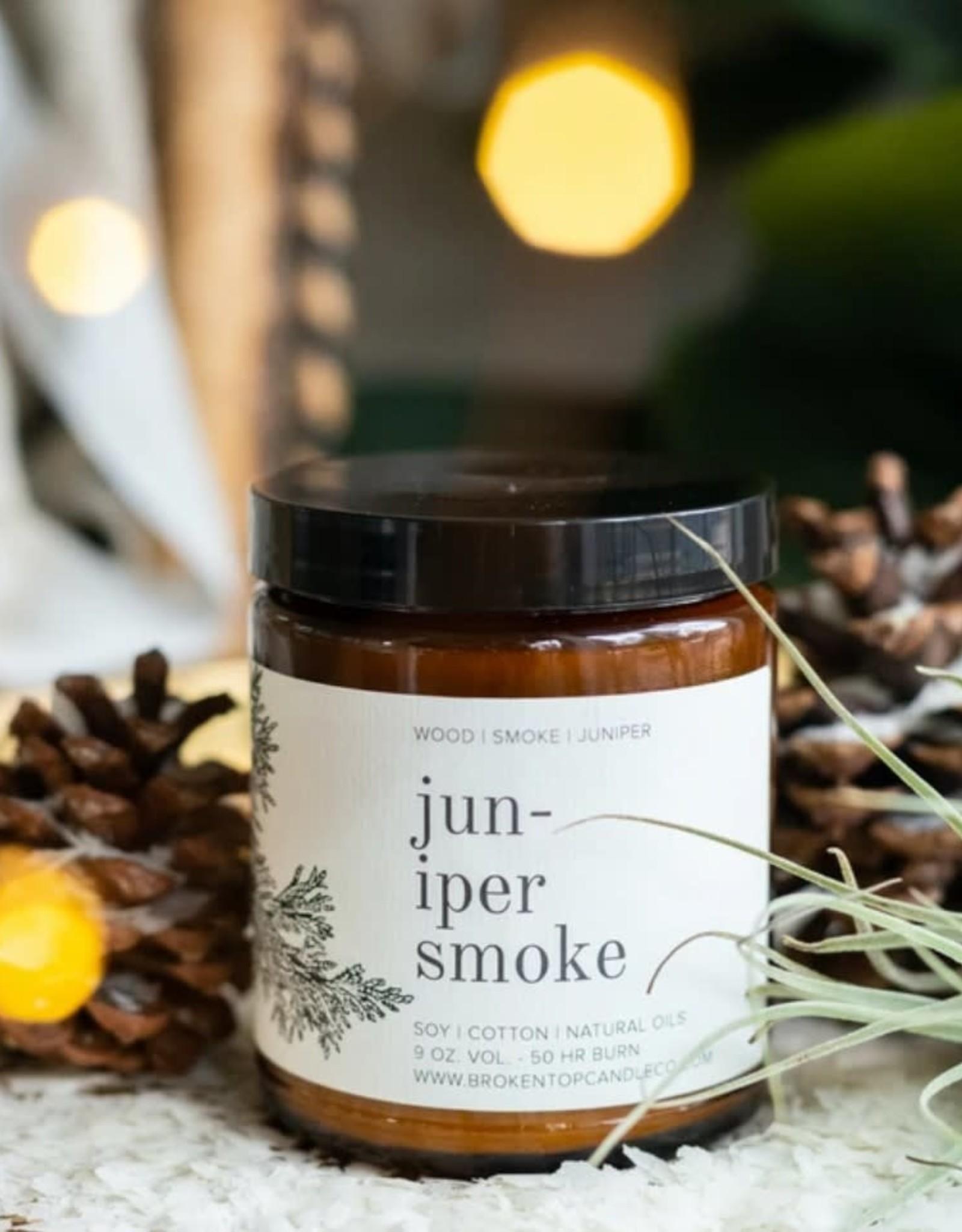 Juniper Smoke Candle