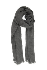 Eyelash Scarf - Heather Charcoal