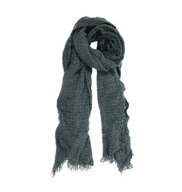 Eyelash Scarf - Heather Teal